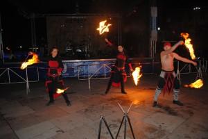 Огнено шоу впечатли русенци