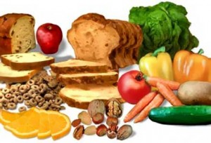 Много продукти съдържат фибри