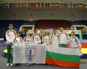 С 52 национални медала се похвали клуб Калагия за 2014 година