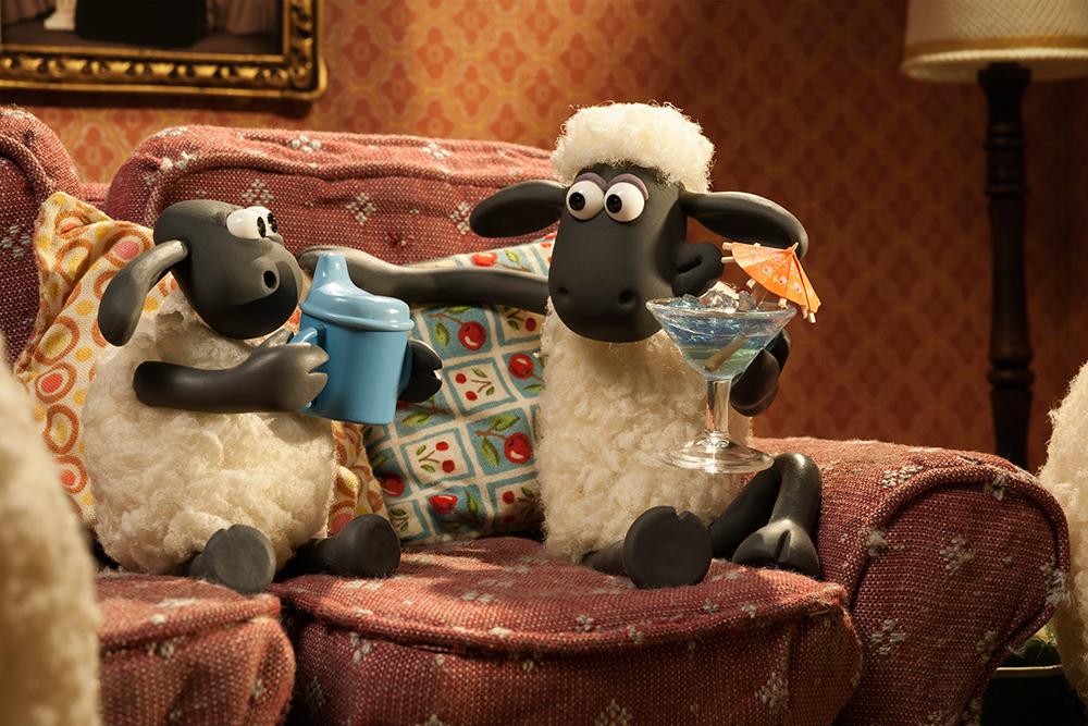Овцата Шон посреща деца с аутизъм в киносалоните