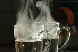 В никакъв случай чашата топла вода не трябва да се заменя с билкови отвари, чай, кафе или плодови напитки.