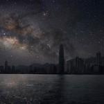 Светлинното замърсяване е страничен ефект на индустриалната цивилизация