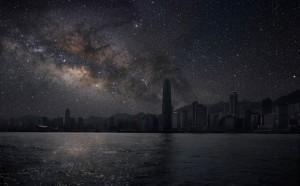 Така биха изглеждали градовете без светлинно замърсяване.