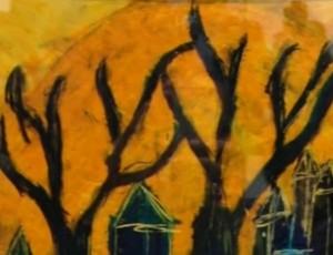 Тази картина на Джем беше изложена в музея на Ван Гог