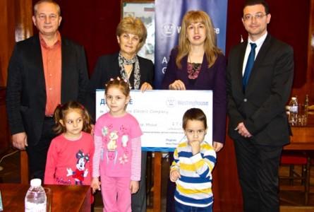 """Photo of """"Уестингхаус"""" помага на пострадала от наводненията детска градина в Мизия"""