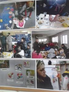 Табло със снимки вече документира първите срещи с роми, включени в проекта