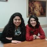 Доброволките Телма и Кристина се молят хората да са щастливи
