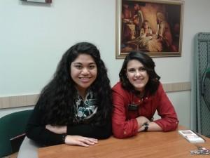 Телма и Кристина са доброволки в църква