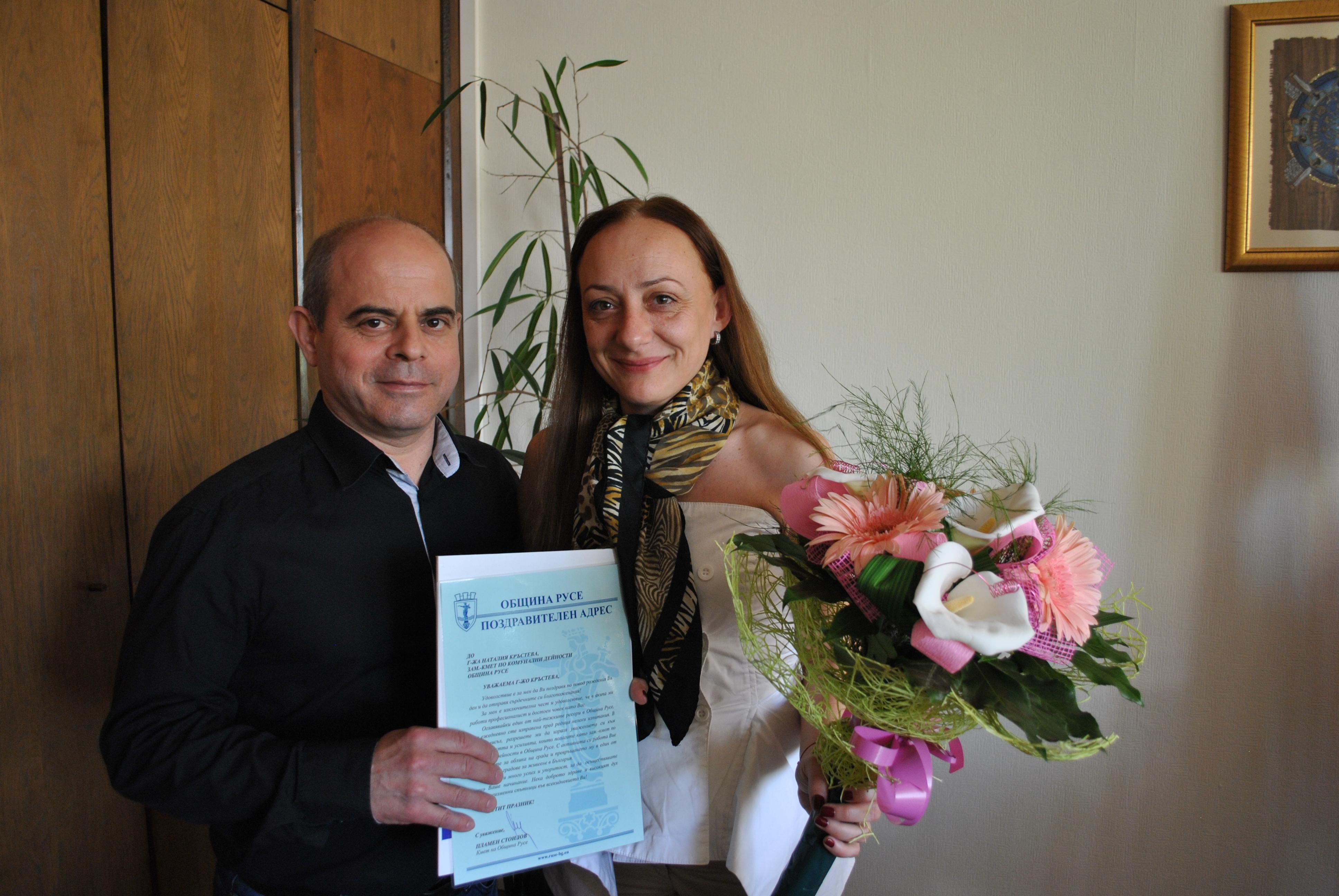 Восъчен печат и камък с Богородица за рождения ден на Наталия Кръстева