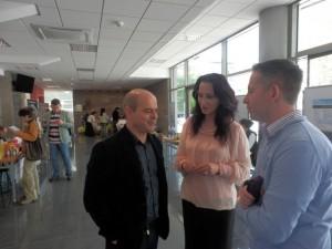 Кметът Пламен Стоилов е чест гост на изложението, на което след няколко дни и проф. Андрей Пантев ще участва с лекция