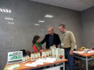 Био ябълки и био ябълков оцет са част от изложението за здравословен начин на живот