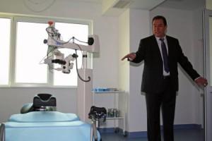 """Първите две очни операции в """"Операционната на бъдещето"""", която вече е реалност в СОБАЛ """"Луксор""""- Пловдив, ще бъдат направени на 4 април."""