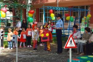 """""""Спаси живота на децата"""" е официалното лого на Третата глобална седмица на ООН за пътна безопасност през месец май тази година."""