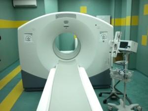 Така изглежда един   PET-CT скенер.