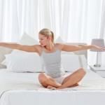 """""""Мързеливи"""" упражнения в леглото"""