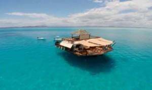 Пълен релакс предлага бар в морето