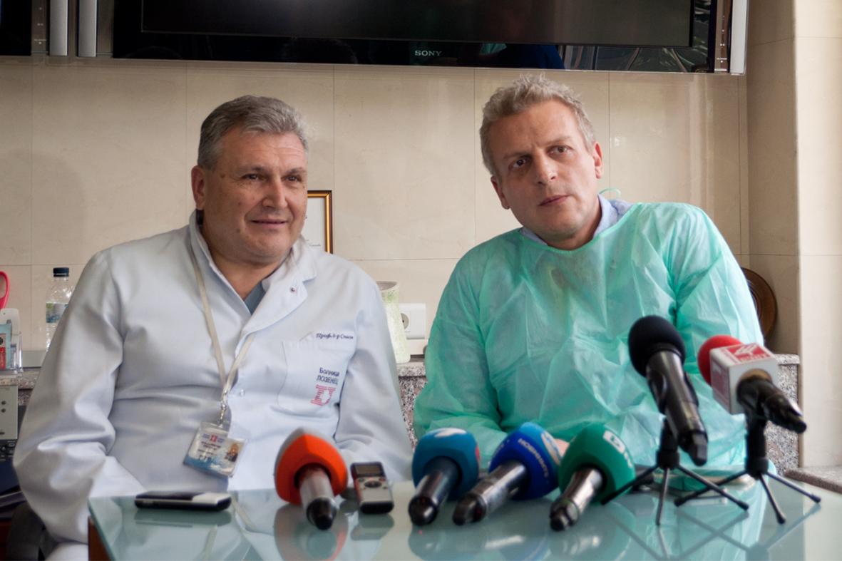 Уникална трансплантация спаси двумесечно бебе