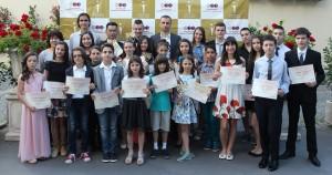 Димитър Бербатов отличи за седма поредна година успелите деца на България