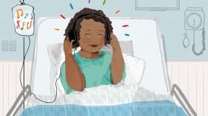 Всеизвестно е, че слушането на музика може да има успокояващ и лечебен ефект.