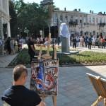 Художници показаха на русенци и гостите на града своя поглед към Канети