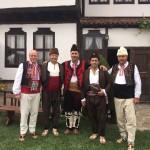 Пламен Нунев облече носия за международния фестивал в Жеравна