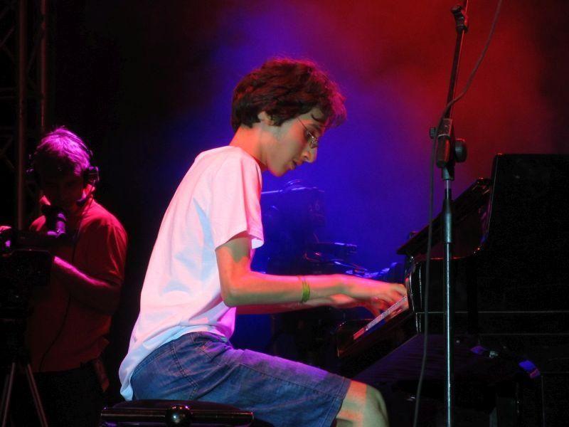 """Американската джаз легенда Шели Бърг стана """"кръстник"""" на международната сцена на 13-годишния русенски пианист Николай Димитров"""