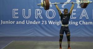 Русенец със сребро от Европейското по вдигане на тежести в Литва