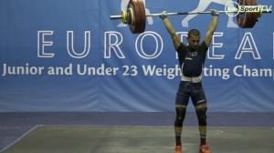 Със сребърен медал се завърна от Европейското първенство за младежи и девойки в Литва състезателят на Тежкоатлетически спортен клуб – Русе Стилиян Грозев