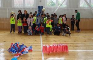 """Много усмивки предизвика срещата на малките """"дракончета"""" с деца в неравностойно положение"""