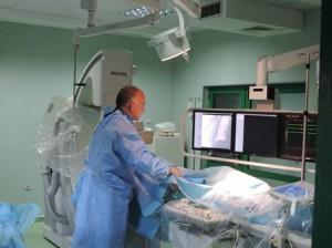 Рядка интервенция извършиха кардиолозите в софийска болница.