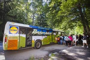 Над 36 000 души ползват Зелена линия Витоша и ВелоВитоша на Лидл за 5 години.