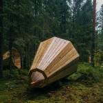 Гората в Естония говори през мегафони