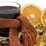 Греяно вино помага при червено гърло и срещу грип