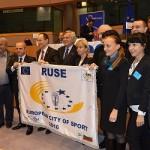 Русе получи приза за Европейски град на спорта през 2016-а