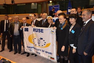 Photo of Русе получи приза за Европейски град на спорта през 2016-а