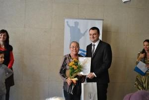Маша Станчева получи една от големите награди в конкурса
