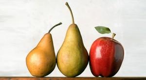 """Жените с тяло във форма на ябълка са в по-голям риск от развитие на хранително разстройство, според ново проучване публикувано в американския журнал по """"Клинично хранене""""."""