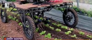 Трактор с педали подпомага биоземеделието