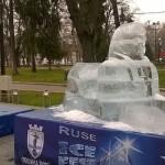 """Ледената скулптура """"Силата на мечтите"""" първа на АЙС ФЕСТ 2015"""