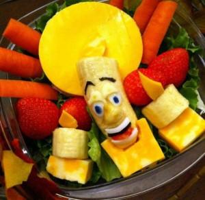 По време на пости, е нужно да хапваме и повече плодове и зеленчуци, носещи на организма ни ценни витамини и минерали.