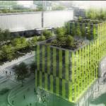 Фасади от водорасли отопляват и охлаждат сгради