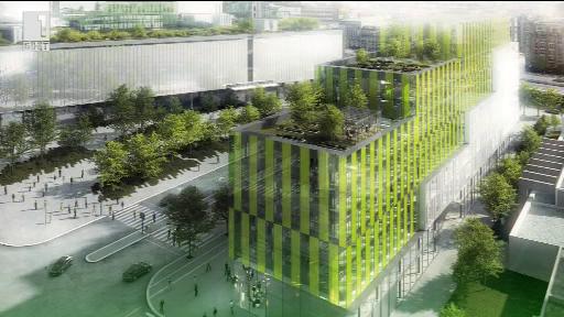 Photo of Фасади от водорасли отопляват и охлаждат сгради