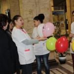 Студенти от Русенски университет участваха в информационна кампания за редките болести