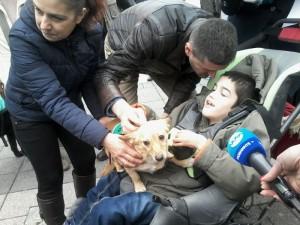 Първото куче - терапевт ще помага на 9-годишно момче от Бургас