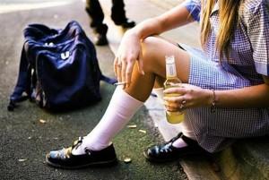 Ученици -алкохол