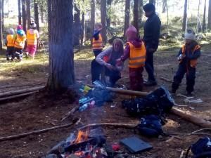 Детската градина буквално се намира в гората