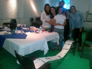 Обучението на  групите минава  под формата на забавни игри, всички са обнадеждени , че  ще трасират пътя на приемната грижа    в Мексико