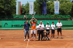 Белгиец спечели Купата на тенис турнир Prista Cup 2016