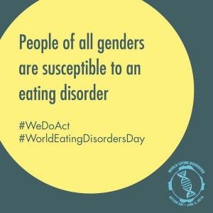 Световен ден за действия срещу хранителните разстройства.