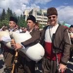 Пламен Нунев облече носия за празника на Златоград